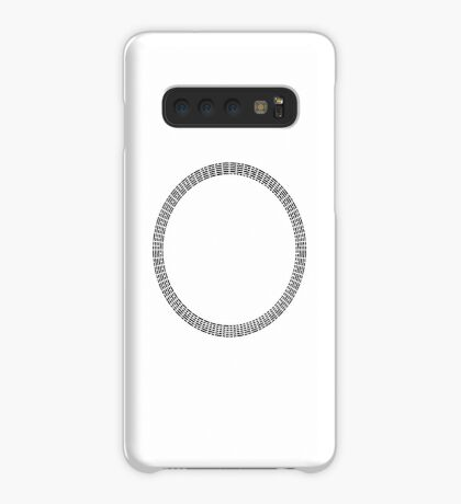 I Ching Hexagrams Circle Case/Skin for Samsung Galaxy