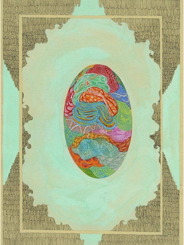 Fabric - The Qalam Series by mariumrana
