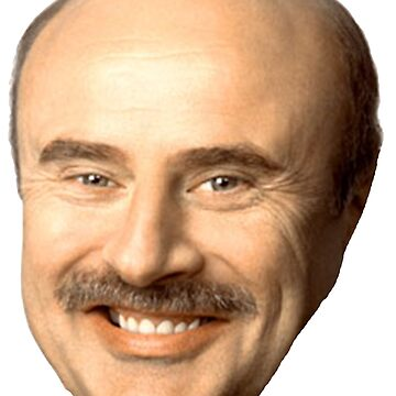 dr phil's face, beautiful  by WesleyWillis