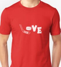 Love Hockey Stick T-Shirt