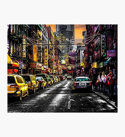 Chinatown Afternoon Photographic Print