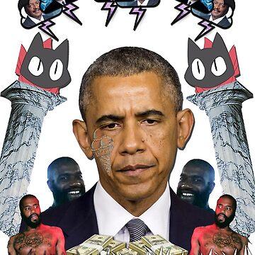 obama's 3rd term by WesleyWillis