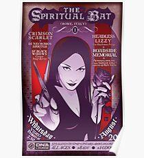 Poster for The Spiritual Bat | Salem Sin Poster