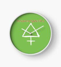 HMD Sulfur logo Clock