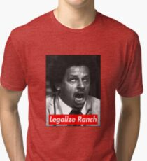 Eric Andre - Legalize Ranch - Red Tri-blend T-Shirt