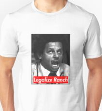 Eric Andre - Legalize Ranch - Rot Slim Fit T-Shirt