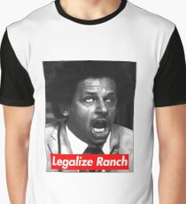 Eric Andre - Legalize Ranch - Red Graphic T-Shirt
