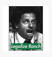 Eric Andre - Legalize Ranch - Green Photographic Print