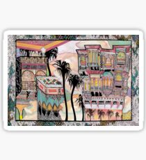 Palm Trees and Havelis Sticker