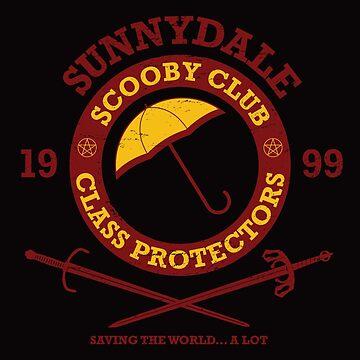 Scooby Club by cloudshadow