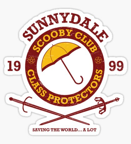 Scooby Club Sticker