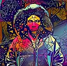 Abstract Hooded Gambino by stilldan97