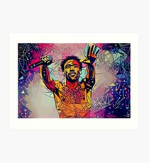 Abstract Gambino Art Print