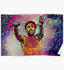 Abstract Gambino Poster