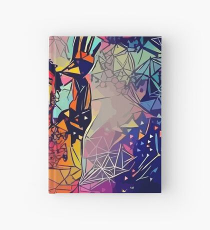 Abstract Gambino Hardcover Journal