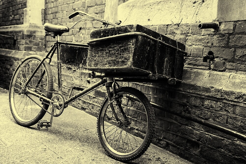 The Book Bike #2 by Ellesscee