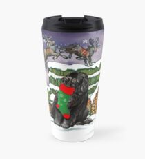 Stocking Newfie Travel Mug