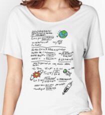 Kerbal Orbit Science 1 Women's Relaxed Fit T-Shirt