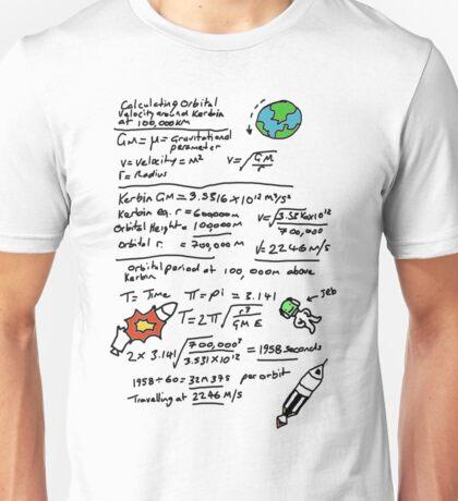 Kerbal Orbit Science 1 Unisex T-Shirt