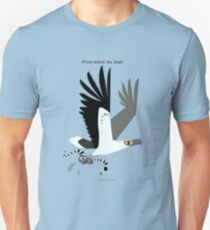 White-bellied Sea Eagle caricature T-Shirt