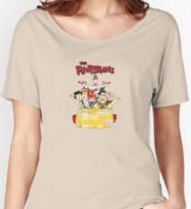 The Flintstones  Women's Relaxed Fit T-Shirt