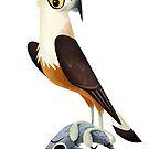 Pallas' Fish Eagle caricature by rohanchak