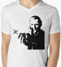 van h Mens V-Neck T-Shirt