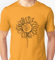 One Line - Sunflower T-Shirt