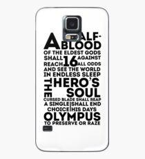 Funda/vinilo para Samsung Galaxy Percy Jackson y los atletas olímpicos: la gran profecía