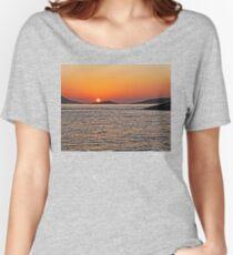 Rhodes Sunset Women's Relaxed Fit T-Shirt