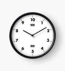 Metric Clock (Black) Clock