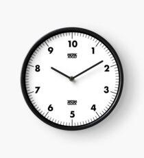 Reloj Reloj métrico (negro)