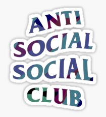 ANTI SOCIAL SOCIAL CLUB CAMO COLOUR Sticker