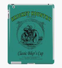 KRICKET KOUNTRY Classic Biker's Cup iPad Case/Skin
