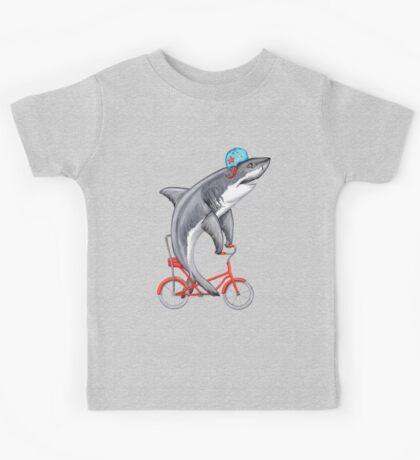 Cycling Shark  Kids Clothes