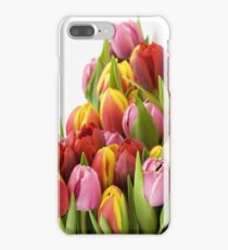 Beautiful Tulip Flowers iPhone 7 Plus Case