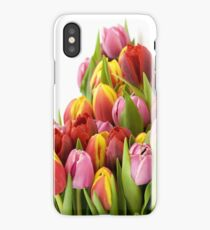 Beautiful Tulip Flowers iPhone Case