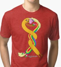 Lady and Jake Tri-blend T-Shirt