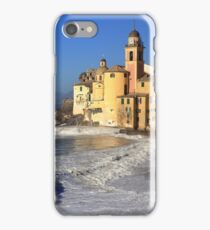 Basilica Santa Maria Assunta   Camogli Liguria Italia iPhone Case/Skin