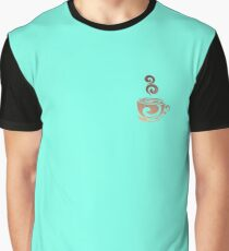 Watercolor Coffee Graphic T-Shirt
