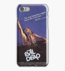 Evil Dead Poster iPhone Case/Skin