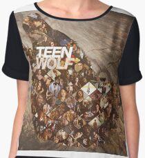 Teen wolf forest Chiffon Top
