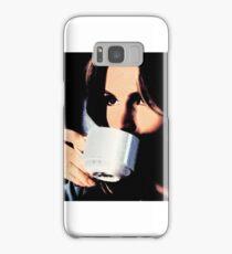 Stana Katic Coffee Samsung Galaxy Case/Skin