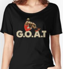 The G.O.A.T Women's Relaxed Fit T-Shirt