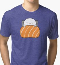 sleepy sushi bed Tri-blend T-Shirt
