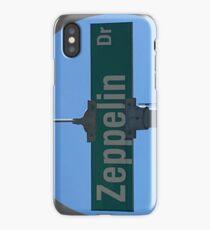 Zeppelin Drive iPhone Case/Skin