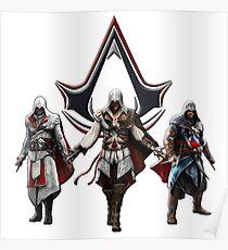 Ezio Auditore, the best Assassin Poster