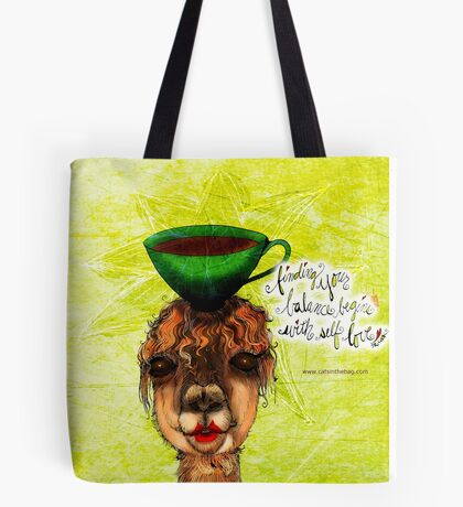 What my #Coffee says to me July 20, 2016 Tote Bag