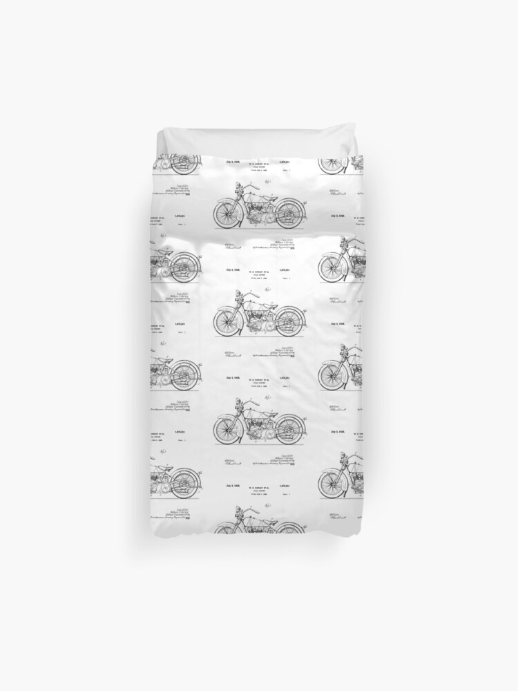 Prime Harley Davidson Motorcycle 1928 Patent Drawing Duvet Cover Caraccident5 Cool Chair Designs And Ideas Caraccident5Info