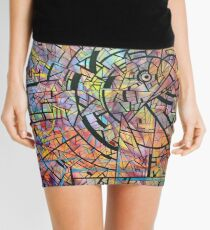 color abstraction one Mini Skirt